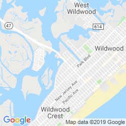 Google Map of Beach Creek Oyster Bar & Grille